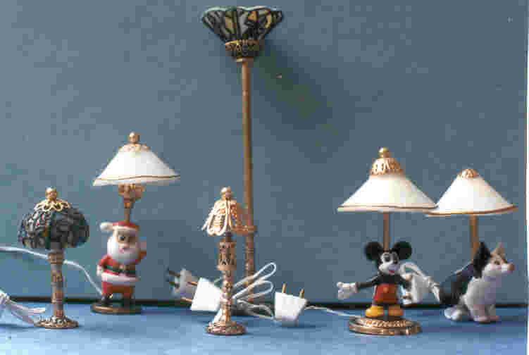 miniature working lamps