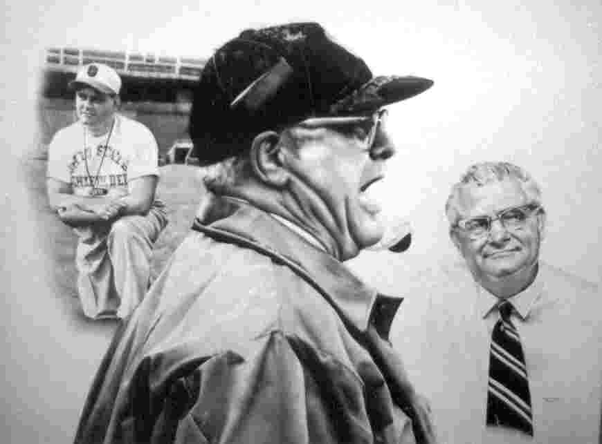 Woody Hayes pencil drawing